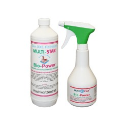 Set Multi-Star BIO POWER 1 L + Sprayflasche